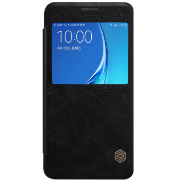 Samsung Galaxy J5 (2016) Suojakuori Nillkin Qin Musta