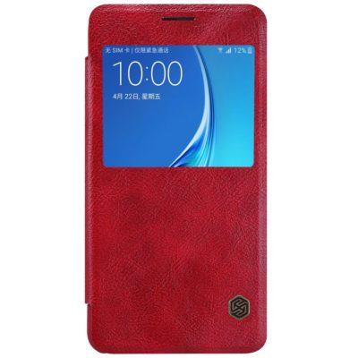 Samsung Galaxy J5 (2016) Suojakuori Nillkin Qin Punainen