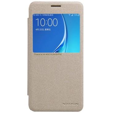Samsung Galaxy J5 (2016) Suojakuori Nillkin Sparkle Kulta