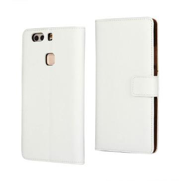 Huawei P9 Plus Nahkakotelo Valkoinen