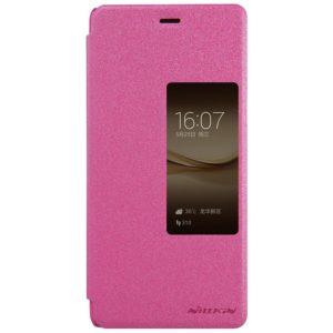 Huawei P9 Plus Suojakuori Nillkin Sparkle Pinkki