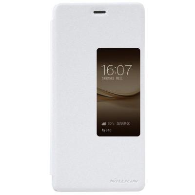 Huawei P9 Plus Suojakuori Nillkin Sparkle Valkoinen