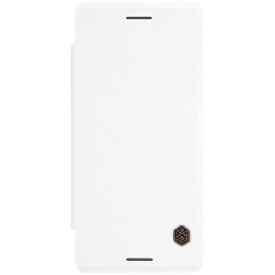 Sony Xperia X Suojakuori Nillkin Qin Valkoinen