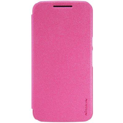 Motorola Moto G 4th Gen / Plus Kotelo Nillkin Pinkki