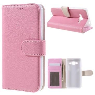 Samsung Galaxy J3 (2016) Kotelo Vaaleanpunainen