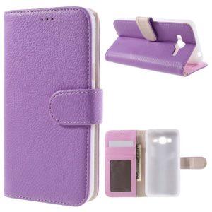 Samsung Galaxy J3 (2016) Kotelo Violetti