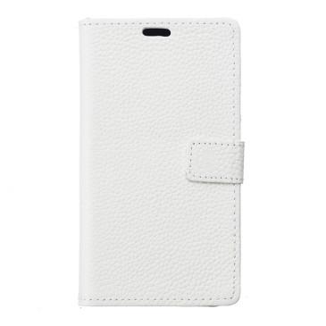 Huawei Honor 8 Nahkakotelo Valkoinen