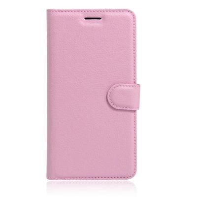 Huawei Honor 8 Suojakotelo Vaaleanpunainen Lompakko