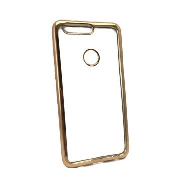 Huawei Honor 8 Suojakuori Läpinäkyvä Kulta