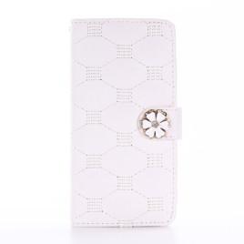 Apple iPhone 7 / 8 Kotelo Timantti Kukka Valkoinen