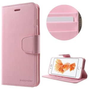 Apple iPhone 7 / 8 Plus Kotelo Sonata Vaaleanpunainen