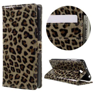 Huawei Y6 II Compact Suojakotelo Leopardi