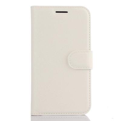 Samsung Galaxy J1 (2016) Lompakkokotelo Valkoinen