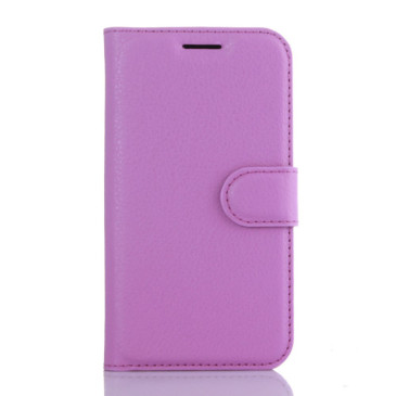 Samsung Galaxy J1 (2016) Lompakkokotelo Violetti