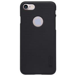 Apple iPhone 7 Kuori Nillkin Frosted Musta ja Suojakalvo