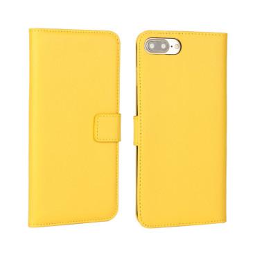 Apple iPhone 7 Plus Nahkakotelo Keltainen