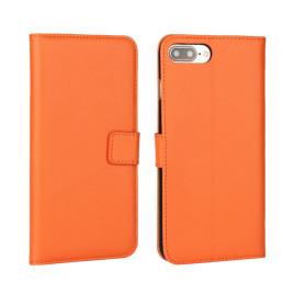 Apple iPhone 7 Plus Nahkakotelo Oranssi