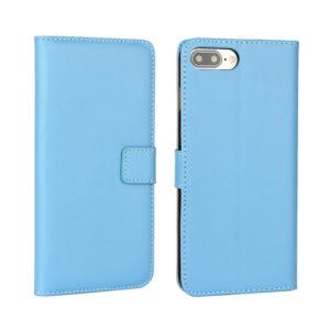 Apple iPhone 7 / 8 Plus Nahkakotelo Sininen