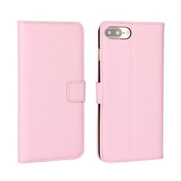 Apple iPhone 7 Plus Nahkakotelo Vaaleanpunainen