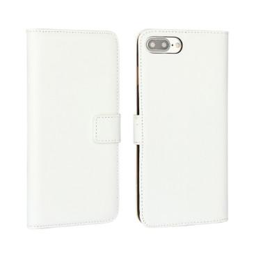 Apple iPhone 7 Plus Nahkakotelo Valkoinen
