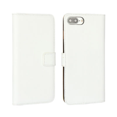 Apple iPhone 7 / 8 Plus Nahkakotelo Valkoinen
