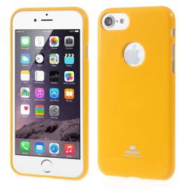 Apple iPhone 7 Suojakuori Newsets Keltainen
