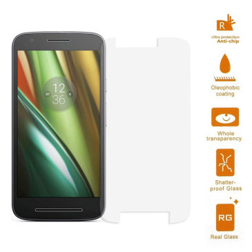Motorola Moto E 3rd Gen Lasinen Näytönsuoja