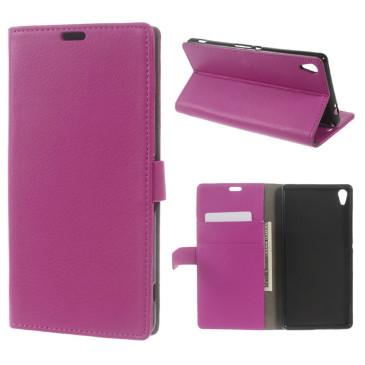 Sony Xperia XA Ultra Suojakotelo Pinkki Lompakko