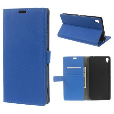 Sony Xperia XA Ultra Suojakotelo Sininen Lompakko