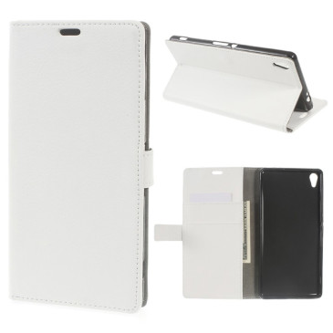 Sony Xperia XA Ultra Suojakotelo Valkoinen Lompakko