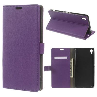 Sony Xperia XA Ultra Suojakotelo Violetti Lompakko