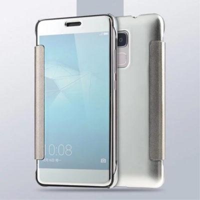 Huawei Honor 7 Lite Suojakuori Peilipinta Hopea