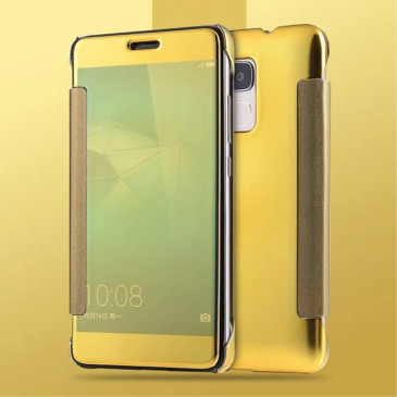 Huawei Honor 7 Lite Suojakuori Peilipinta Kulta