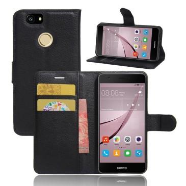 Huawei Nova Kotelo Musta Lompakko