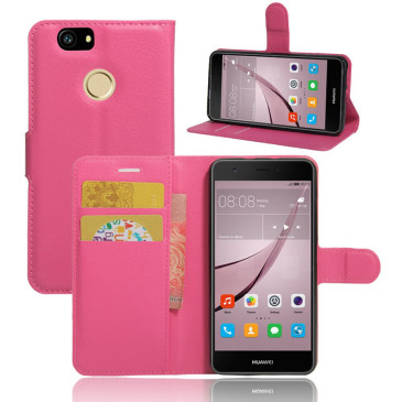 Huawei Nova Kotelo Pinkki Lompakko
