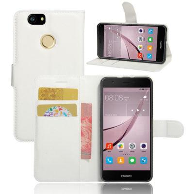 Huawei Nova Kotelo Valkoinen Lompakko