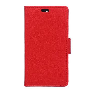 Lenovo K5 Suojakotelo Punainen Lompakko