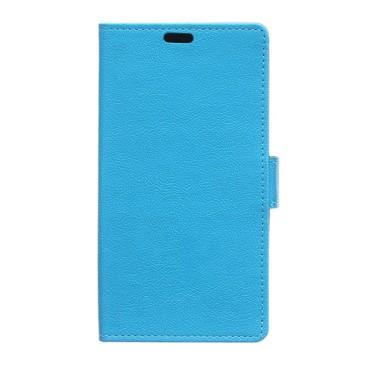 Lenovo K5 Suojakotelo Sininen Lompakko