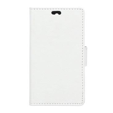 Lenovo K5 Suojakotelo Valkoinen Lompakko