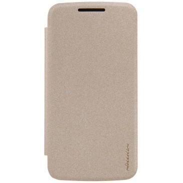 Motorola Moto G4 Play Kotelo Nillkin Sparkle Kulta
