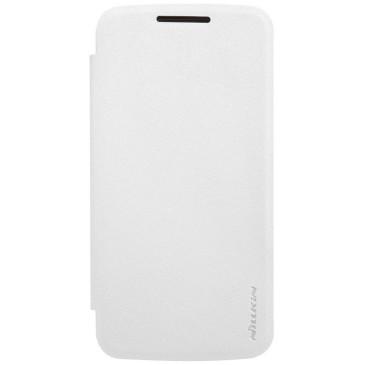 Motorola Moto G4 Play Kotelo Nillkin Sparkle Valkoinen