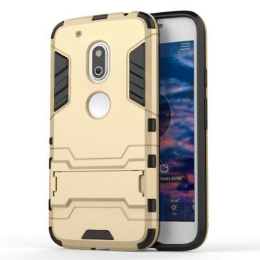 Motorola Moto G4 Play Suojakuori 2-osainen Kulta