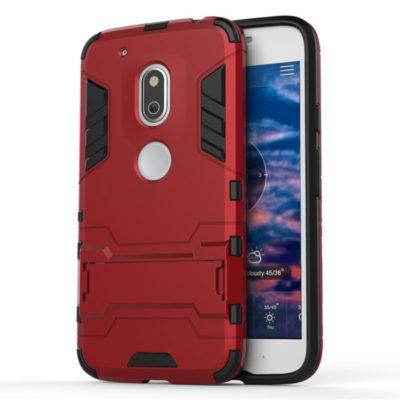 Motorola Moto G4 Play Suojakuori 2-osainen Punainen