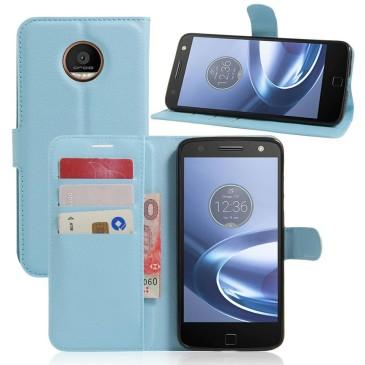 Motorola Moto Z Play Suojakotelo Sininen