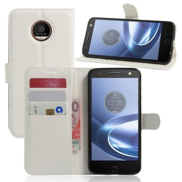 Motorola Moto Z Play Suojakotelo Valkoinen