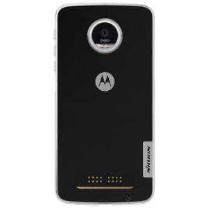 Motorola Moto Z Play Suojakuori Nillkin Läpinäkyvä