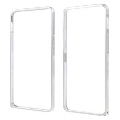 OnePlus 3 / 3T Bumper Kuori Alumiini Hopea