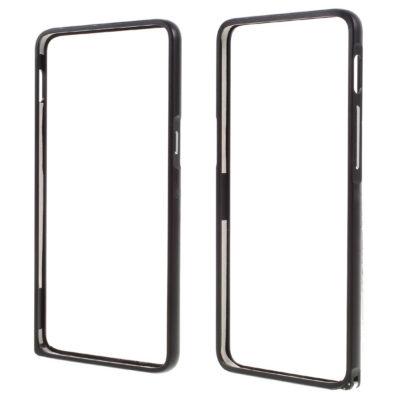 OnePlus 3 / 3T Bumper Kuori Alumiini Musta