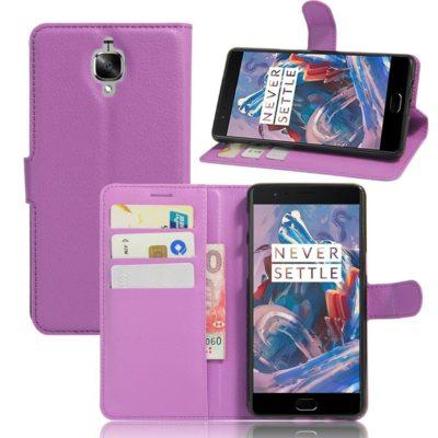 OnePlus 3 / 3T Lompakkokotelo Violetti