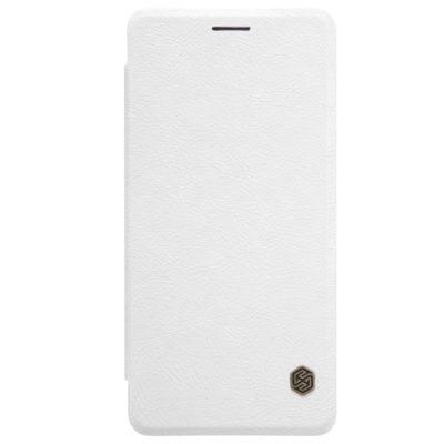 OnePlus 3 / 3T Suojakotelo Nillkin Qin Valkoinen